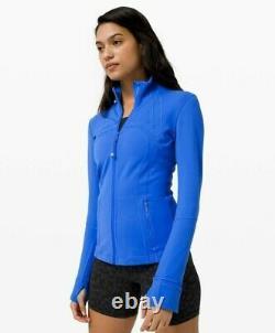NWT Lululemon Define Jacket Wild Bluebell Size 4 Small