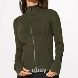 NWT Lululemon Define Jacket size4,6Dark Olive