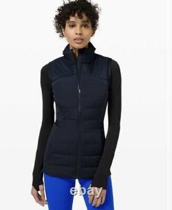 NWT Lululemon Down for It All Vest Online Only Size 10/ Navy