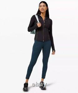 NWT Lululemon Hooded Define Jacket Gold Sz 8, Black Special Edition