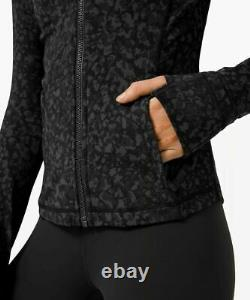 NWT Lululemon Hooded Define Jacket Nulu SIZE6Wild Thing Camo Deep Coal Multi