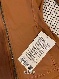 NWT Lululemon Hooded Define Jacket Nulu SIZE8Desert Sun