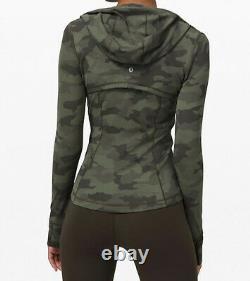 NWT Lululemon Hooded Define Jacket Nulu Size 2 XS Camouflage