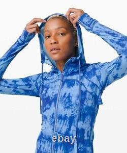NWT Lululemon Hooded Define Jacket Nulu Size 6, Game Day Blue Multi GABU