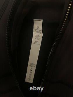 NWT Lululemon Special Edition Define Jacket Cropped Gold Black Size 12