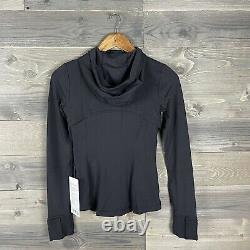 NWT Lululemon Womens Black Hooded Define Jacket Nulu Sz 4