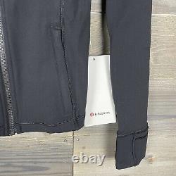 NWT Lululemon Womens Black Hooded Define Jacket Nulu Sz 6