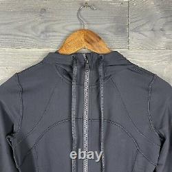 NWT Lululemon Womens Black Hooded Define Jacket Nulu Sz 8
