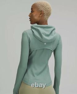 NWT Women Lululemon Hooded Define Jacket Nulu Tidewater Teal-Size 8