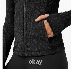 New Lululemon Hoodie Define Jacket Black Gray Wltd Camo Soft Nulu Fabric 6