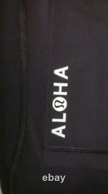 New Lululemon LULU Define Jacket Aloha HAWAII Islands 2 4 6 8 10 black White
