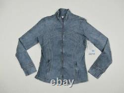 New Lululemon Size 12 Define Jacket Ice Dye Ice Wash Asphalt Grey