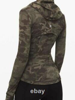 New Nwt Lululemon Define Jacket Nulu Incognito Camo Multi Gator Size 10