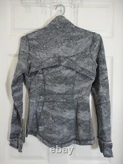 New With Tag Lululemon Define Jacket Area Ice Grey Size 6