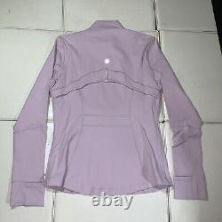 P12 Lululemon Size 10 Define Jacket Pink Full Zip Run Speed Yoga Luon