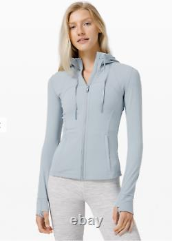 SOLD OUT New Hooded Define Jacket Nulu Chambray Size 4
