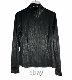 Special Edition Lululemon Define Shine Jacket Acclimatize Black Foil 10 NWOT