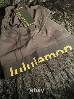 Édition Limitée Lululemon Define Jacket Cropped Gold Black 6 (small)