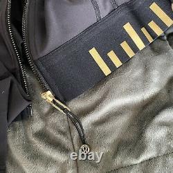 Lululemon 12 Define Jacket Cropped Black/ Gold T.n.-o.