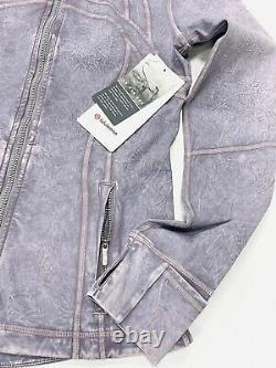 Lululemon Define Jacket In Ice Dye Ice Wash Violet Verbena Size Us/8 Royaume-uni/12
