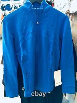 Lululemon Define Jacket Wild Bluebell 4 6 8 10 12 14 (sz 12 Vendu)