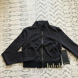 Lululemon Définir Veste Cropped Gold Black / Taille 8