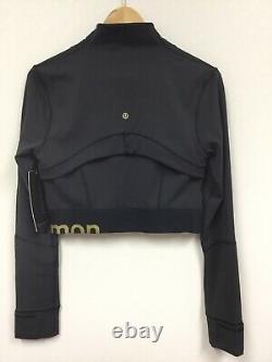 Lululemon Définir Veste Dorée Taille 8, Nouveau Avec Les Étiquettes