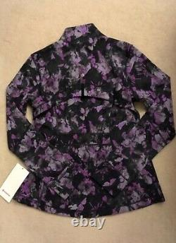 Lululemon Définir Veste Floral Shift Multi 12 Ou 14