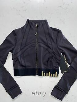 Lululemon Définir Veste Gold Cropped Taille 6