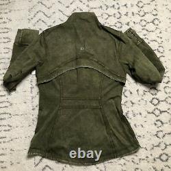 Lululemon Définir Veste Ice Dye Ice Wash Moss Green / Taille 8