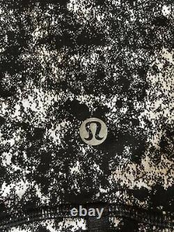 Lululemon Définir Veste Luxtreme Misted Jacquard Black White 8 12