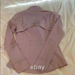 Lululemon Définir Veste Porcelaine Rose Taille 8