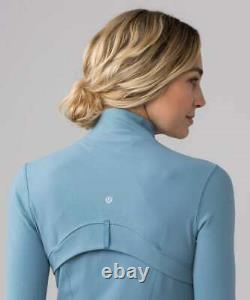 Lululemon Définir Veste Taille 12 Seascape Nwt Blue Yoga Luon Coat Running New