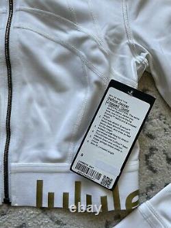 Lululemon Gold Special Edition Cropped Définir Veste Blanche / Taille 8