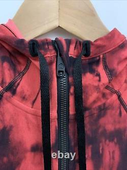 Lululemon Hooded Définir Veste Nulu Nwt Tailles 4 6 8 Gdbm Game Day Blk Red Multi