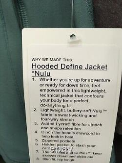 Lululemon Hooded Définir Veste Nulu Tidewater Sarcelle 4