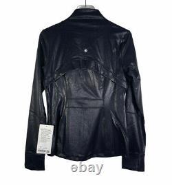 Lululemon Spark Foil Black Jacket Luminosity Define Jacket Femmes 10 T.n.-o.