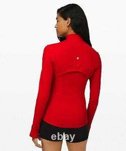 New Lulullemon Defined Jacket 14 Dark Red Livraison Gratuite