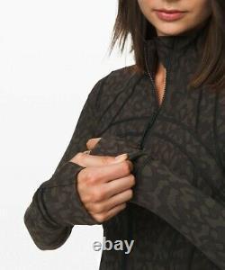New Lulullemon Defined Jacket 6 8 10 12 Formation Camo Evergreen Multi Livraison Gratuite