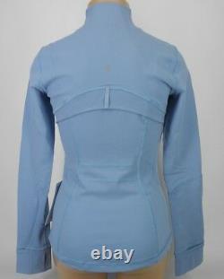New Lulullemon Defined Jacket 8 Cascade Blue Livraison Gratuite