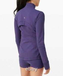 New Lulullemon Définir Veste 12 Minuit Orchidée Purple Livraison Gratuite