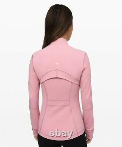 New Lulullemon Définir Veste 12 Pink Taupe Livraison Gratuite