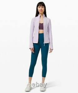 New Women Lululemon Define Veste Luon Lavender Dew Taille 8