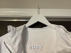 New Women Lululemon Veste À Capuche Nulu Blanc Taille 16 T.n.-o. New Full Zip