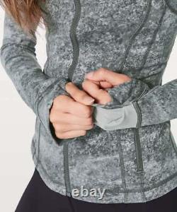 Nouveau Avec Tag Lululemon Définir Jacket Area Ice Grey Size 6