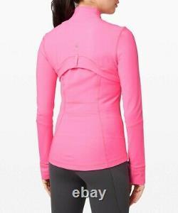 Nouveau Lululemon Définir Jacket 4 8 10 12 14 Sombre Prisme Rose Le Bateau Libre