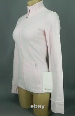 Nouveau Lululemon Définir Veste 8 Pink Bliss Navire Gratuit
