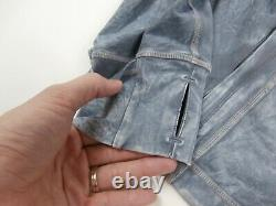 Nouveau Lululemon Taille 12 Définir Veste Ice Dye Ice Lavage Asphalte Gris