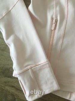 Nouveau T.n.-o. Lululemon Définir Veste Luon Ballet Pantoufle Rose Taille 8