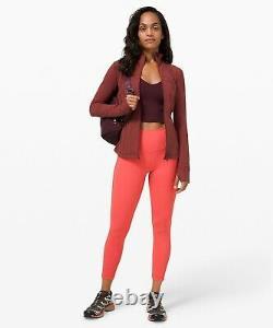 Nouvelle Femmes Lululemon Définir Veste Luon Savannah Taille 12